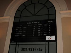Perugia train schedule