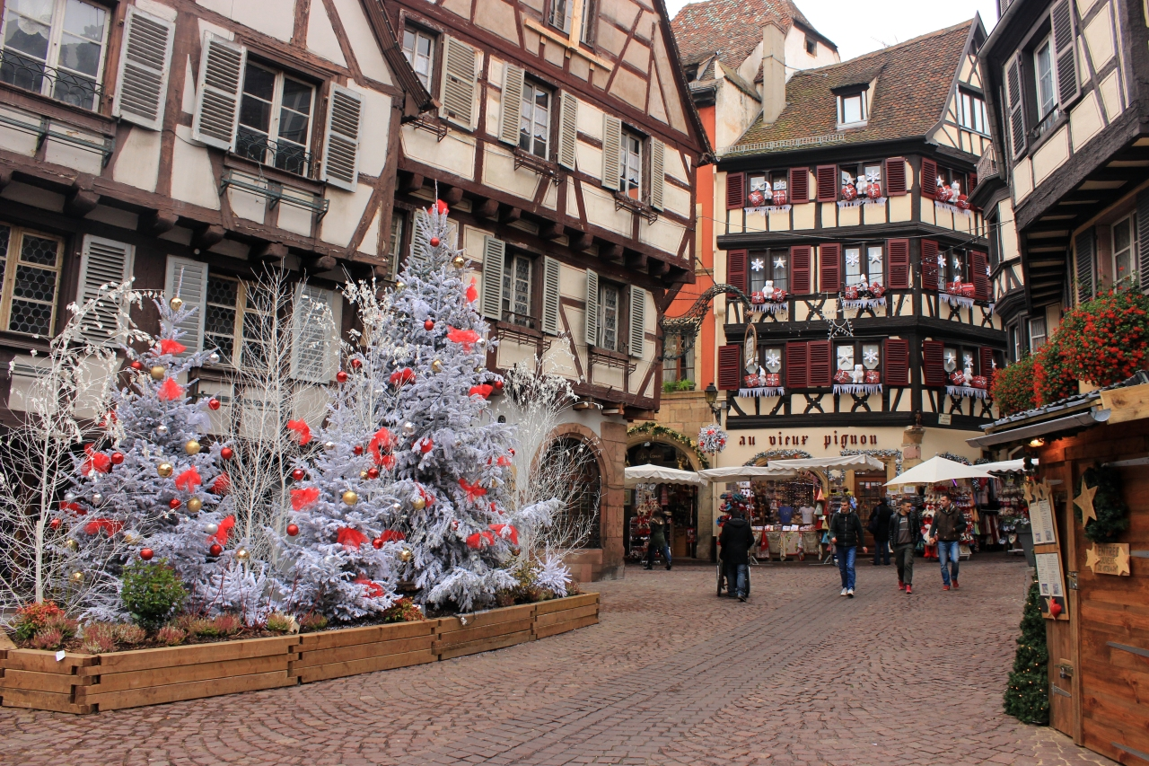 Erasmus Exchange in Freiburg. Part VII. Traveling to Colmar