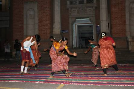 Traditionally, the clapping in the dance was to improve circulation