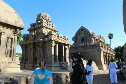 The Shore temple complex.