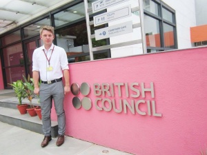 Lewis at the British Council