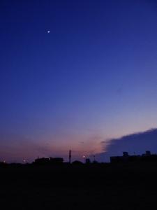 Sunset on Chennai Beach (2)