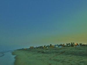 Sunset on Chennai Beach