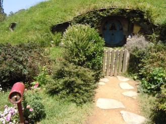 A Hobbit house