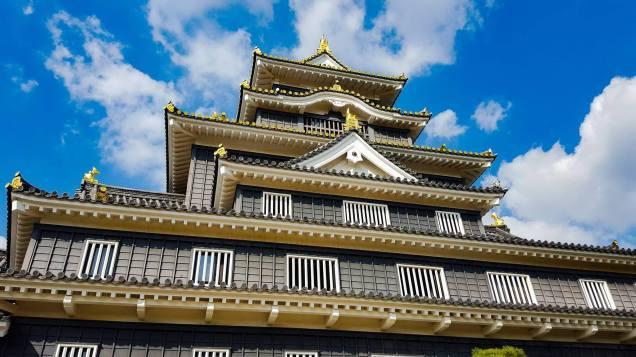 Okayama Castle, 15 minutes from my flat