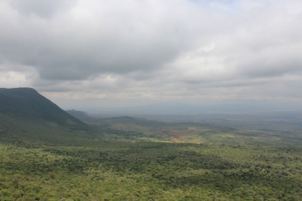 A view of the Rift Valley