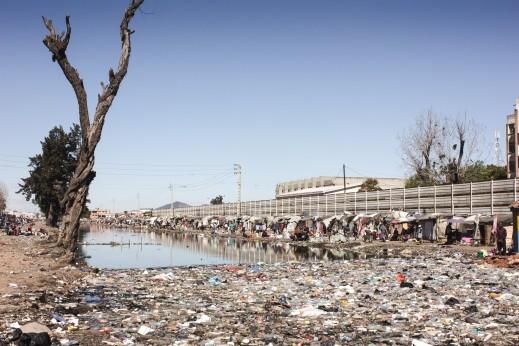 Slum in Antananarivo