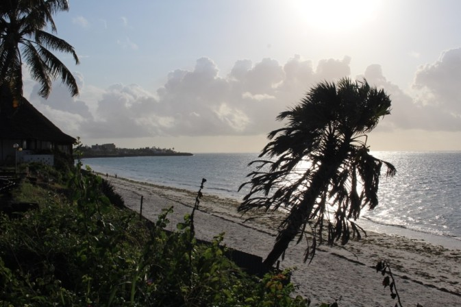 The Mombasa coastline