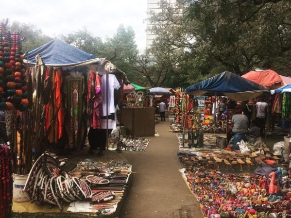 The Maasai Market in Nairobi