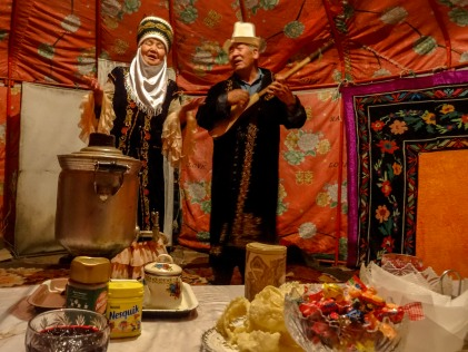 Traditional songs performed by our hosts