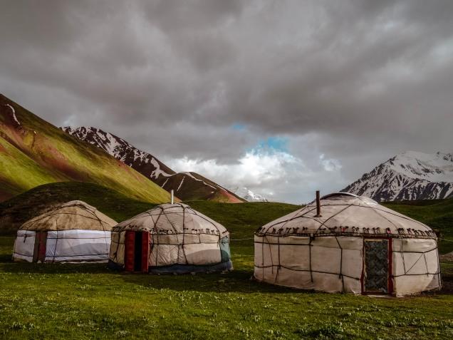 Yurts by Tulpar Kul
