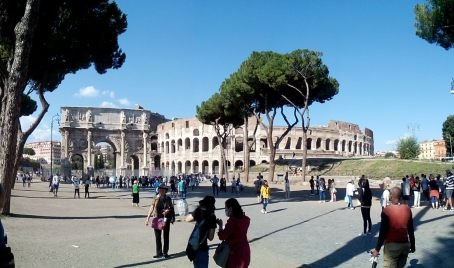 ...and then go to do some interviews and archival work in Rome!