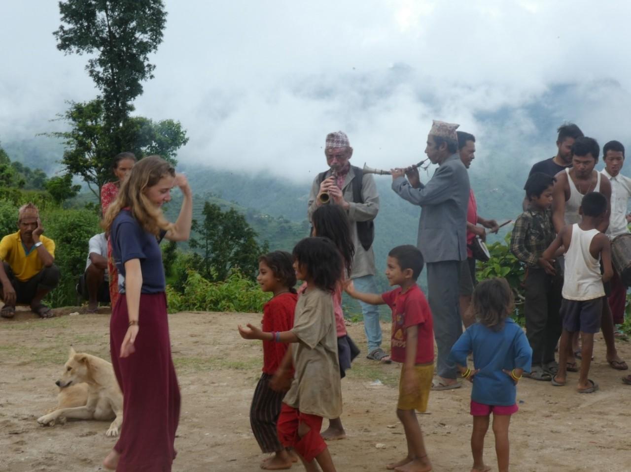 Volunteering in Dhading,Nepal!