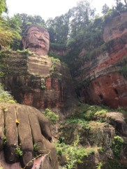 UNESCO Heritage Site: Giant Buddha at Mount Le