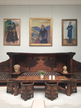 Visiting Thielska Galleriet (a collection of 20th century Nordic art) during my day off