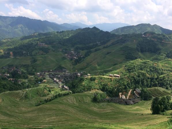 View of Longsheng Rice Terraces