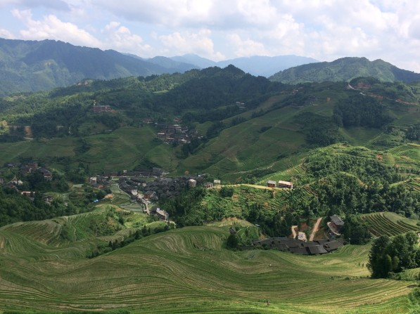 View of Longsheng Rice Terraces