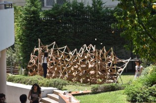 The installation as it was completed