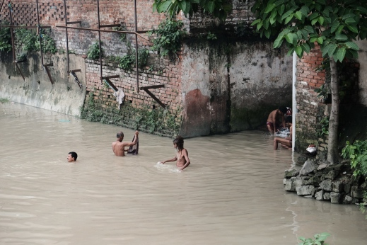 Washing in the Hooghly