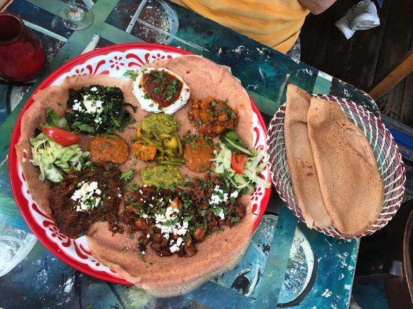 ETHIOPIAN FOOD!
