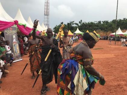 A traditional annual festival in Busua