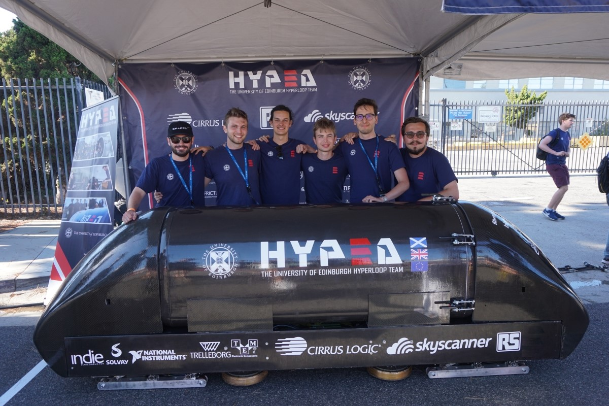 The SpaceX Hyperloop Competition in LA, USA