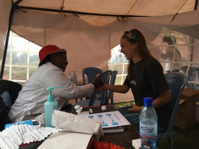Meeting Jane, an HIV counseller from Bishop Kioko Catholic Hospital