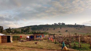 One of my favourite photos: the foreground is Kenya, the background is Tanzania (spot Mt Kili)