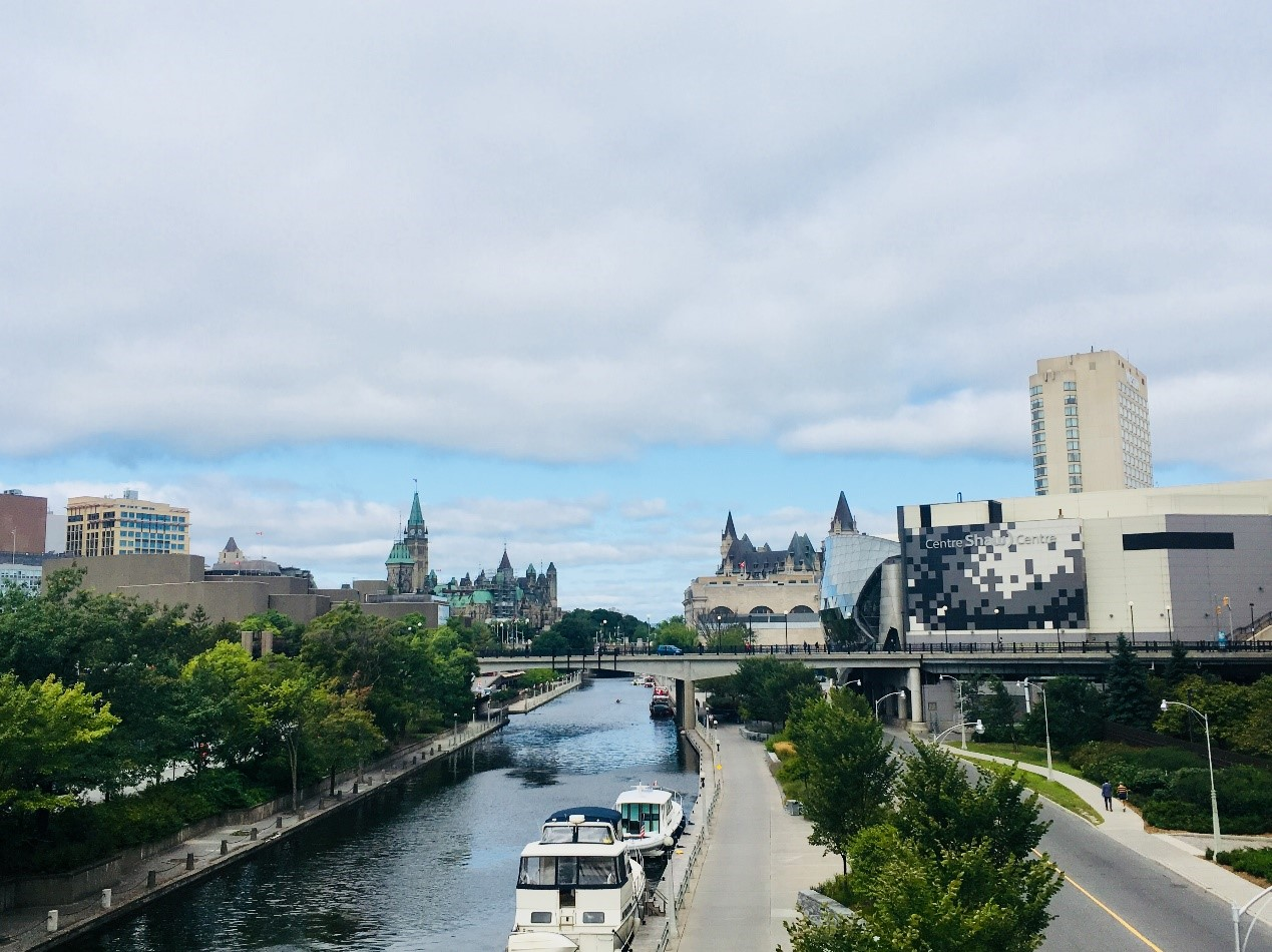 Visiting Ottawa for my first international conference