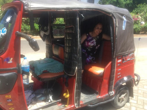 bajaji_a cheap means of transportation in dar es salaam that can take you anywhere