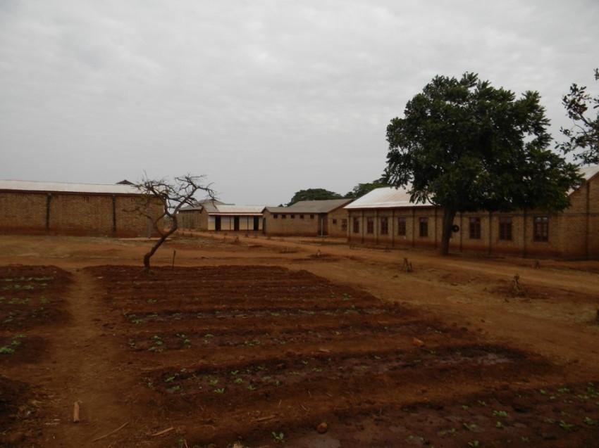 School garden at Oswe Boys Secondary School