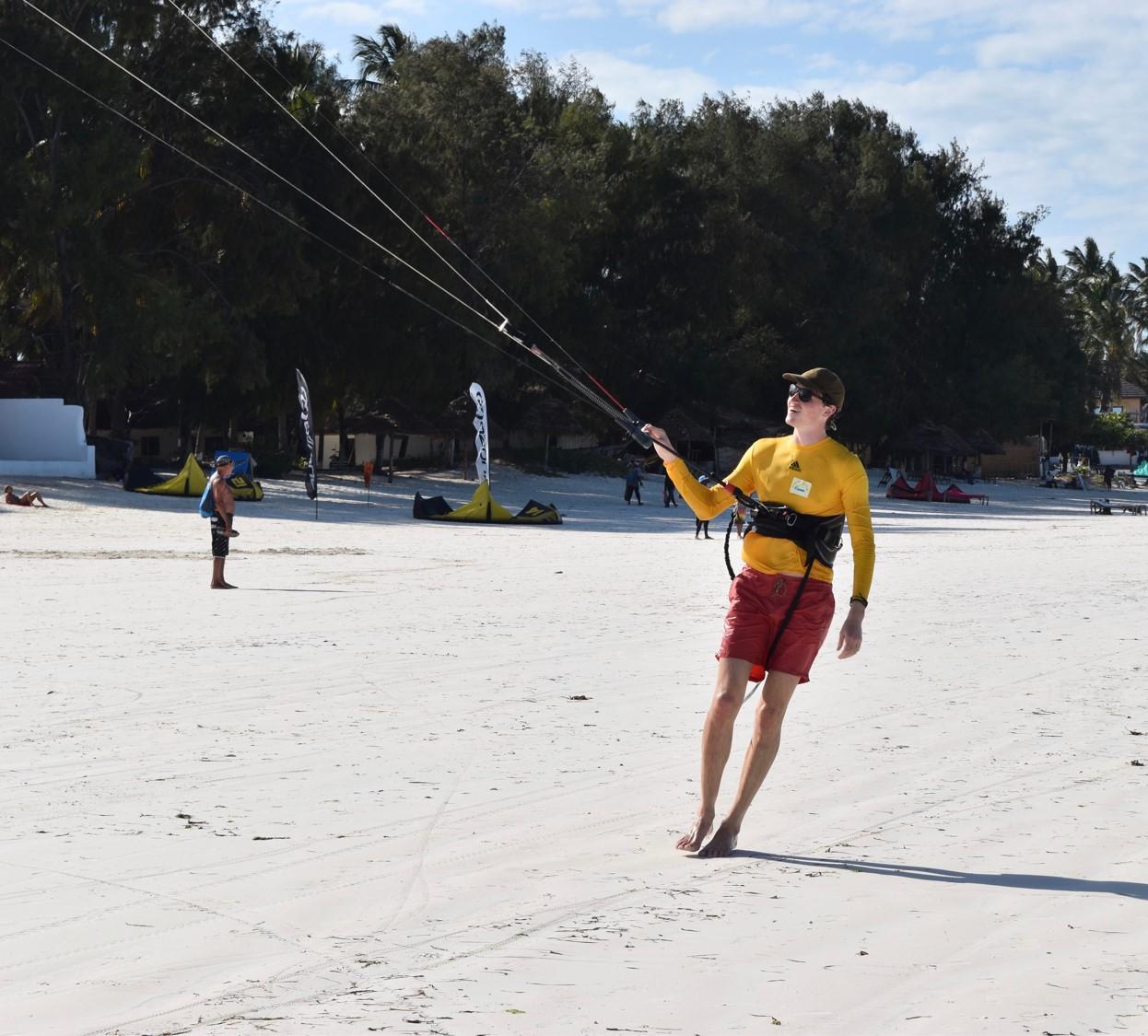 Some RnR in the form of Kitesurfing in Paje, Zanzibar