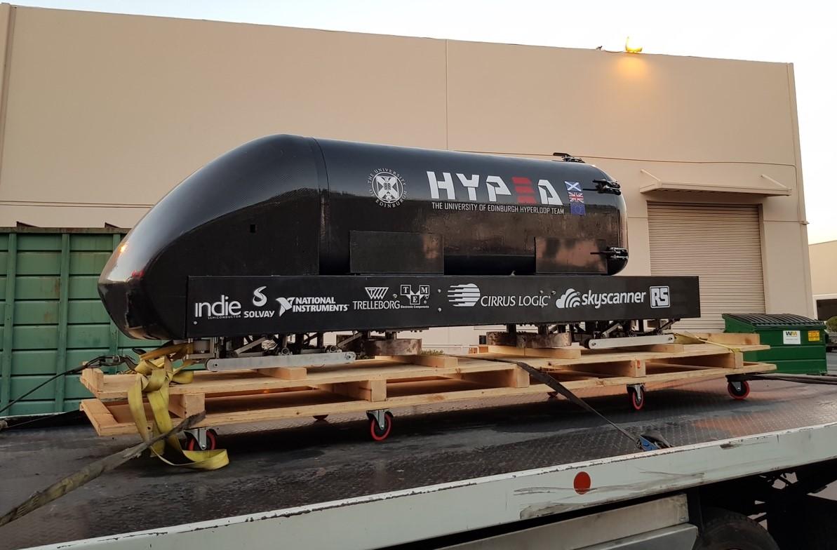 Hyperloop Pod Competition inLA