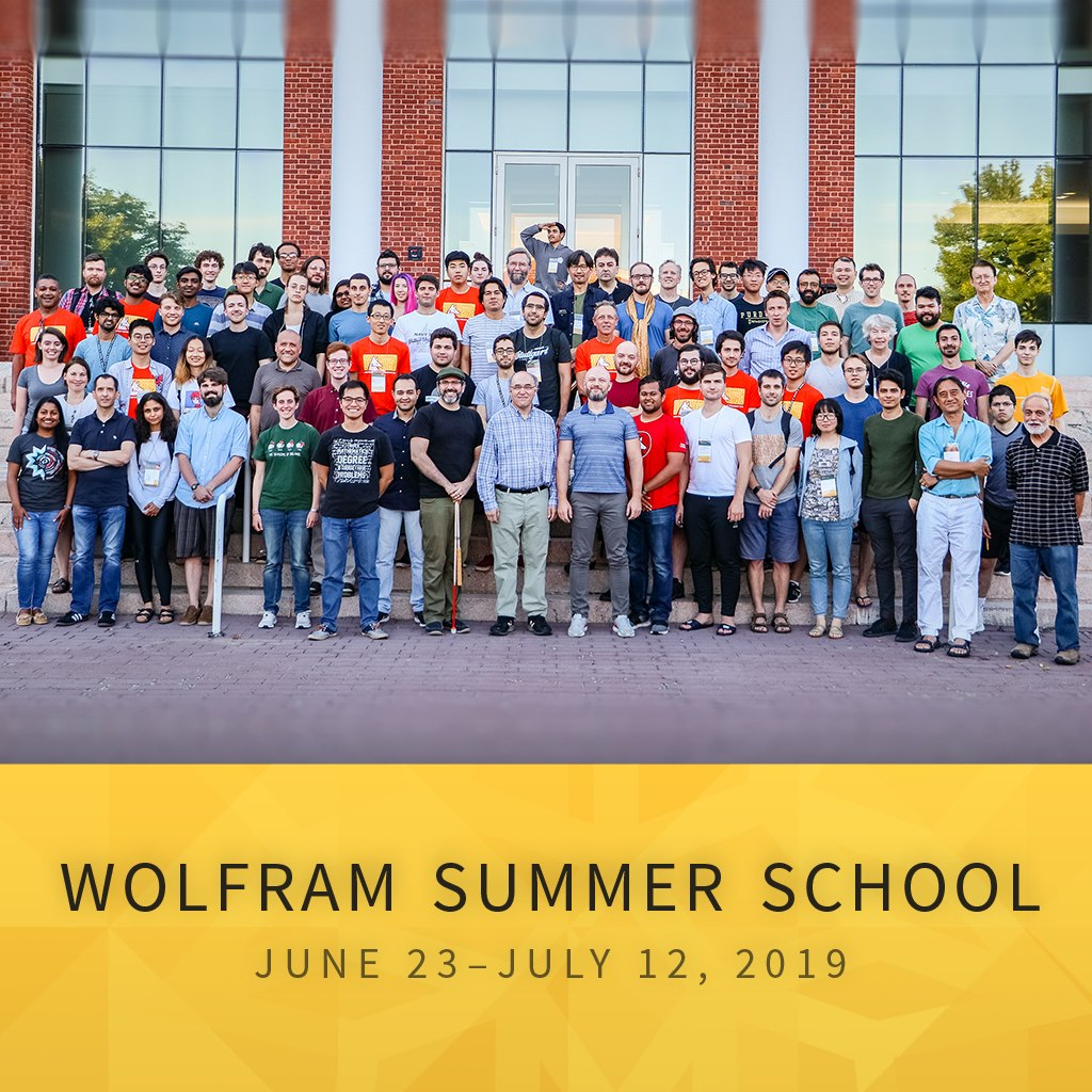 Attending the Wolfram Summer School 2019 in Boston, MA