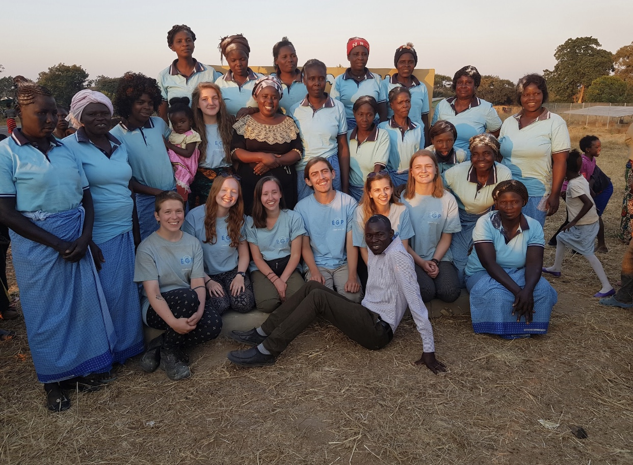 Volunteering in Rural Zambia, 2019.