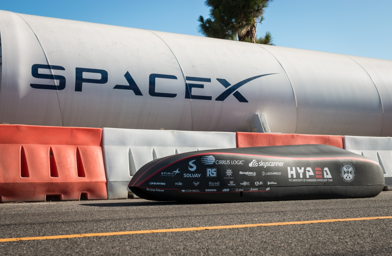 Hyperloop competition at SpaceX in LosAngeles