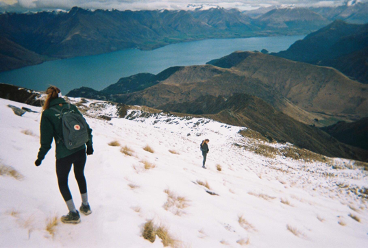 Tramping in the South Island of New Zealand